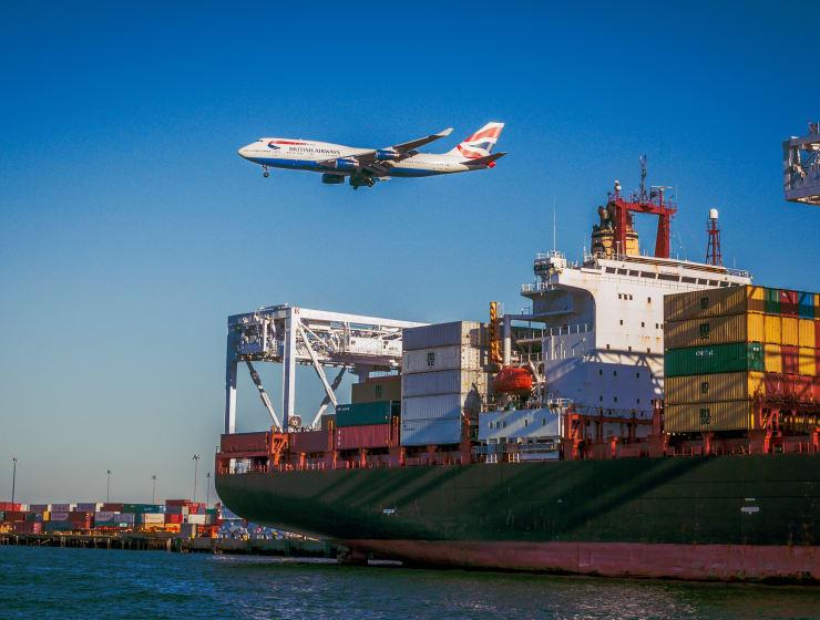 международен транспорт на стоки по морски път